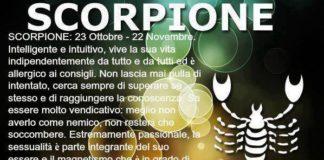 Caratteristiche Scorpione Archivi Terranostra News