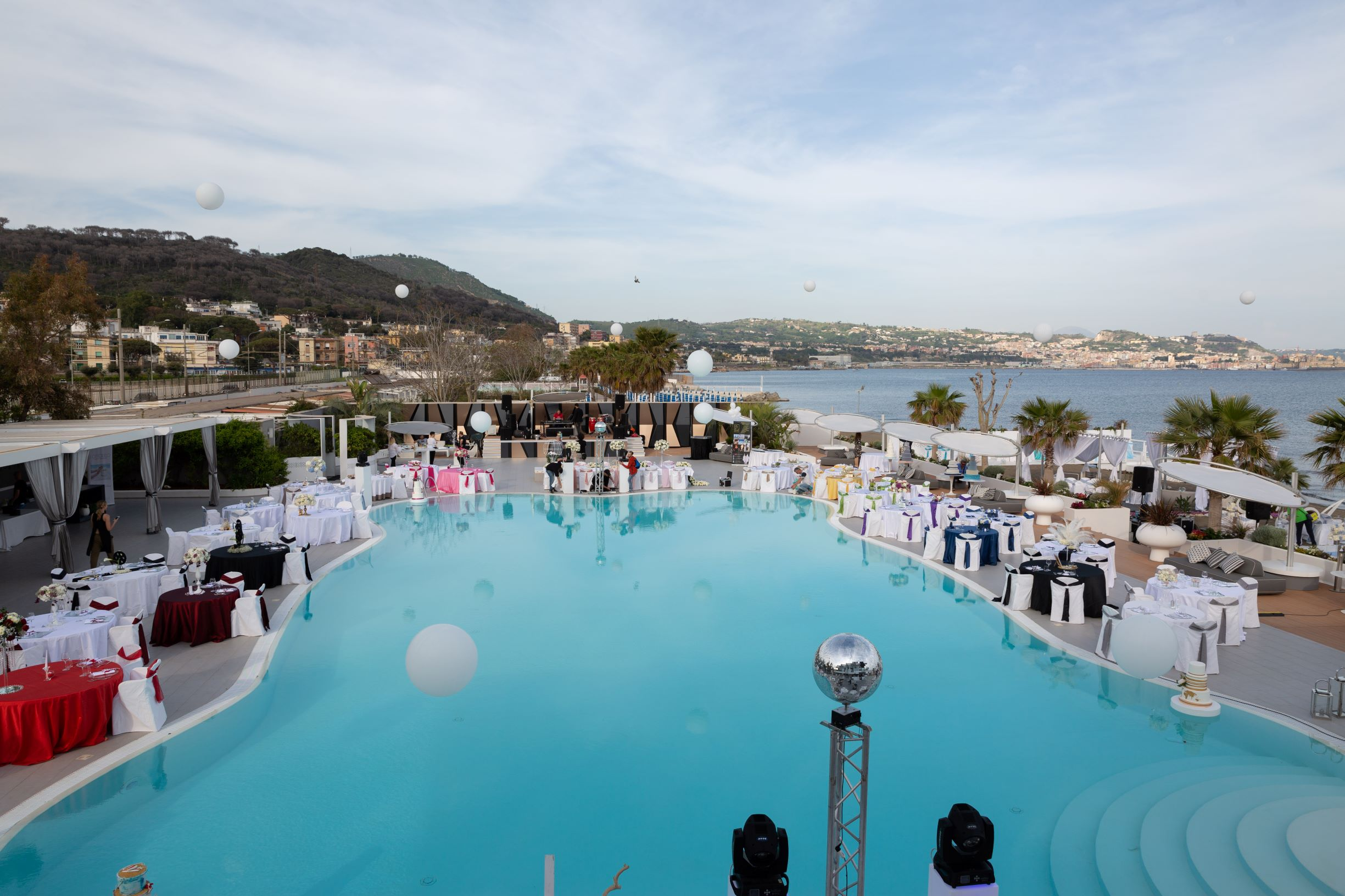 Matrimonio Spiaggia Pozzuoli : Kora pool and beach events pozzuoli napoli