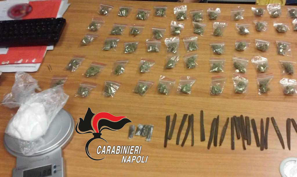 Rione Traiano E Fuorigrotta 118 Dosi Di Hashish E Marijuana E 190 Grammi Di Cocaina Scatta Il Sequestro Terranostra News
