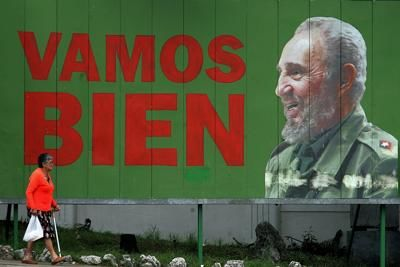 Sigaro di 90 metri per celebrare Fidel