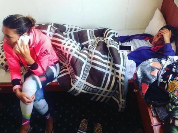 Flavia Pennetta bloccata a Corfù: traghetto guasto