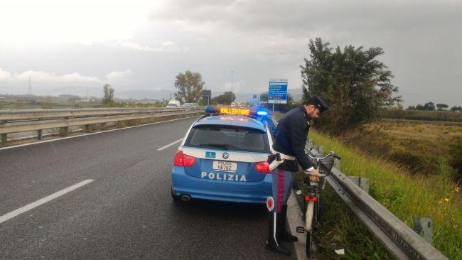 Incidente stradale sull'Asse Mediano auto distrutte e traffico in tilt